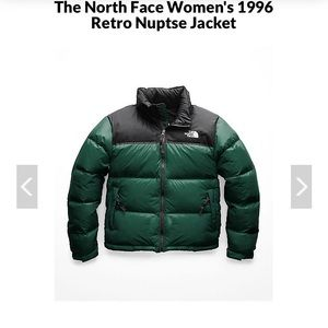 The North Face Women Nuptse 1996 Jacket puffy Sz M